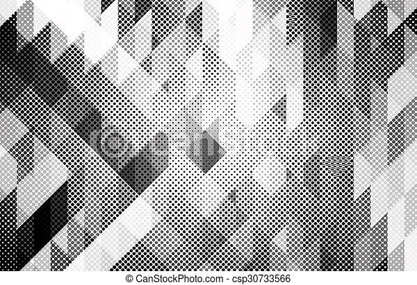 Black and white background - csp30733566