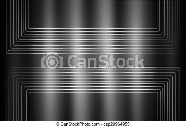 Black and white background - csp29964953