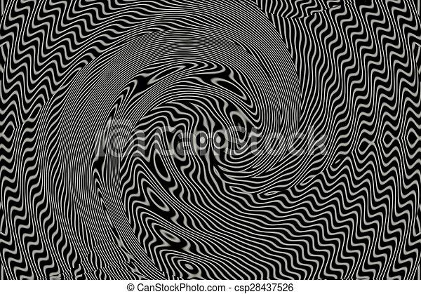 Black and white background. - csp28437526