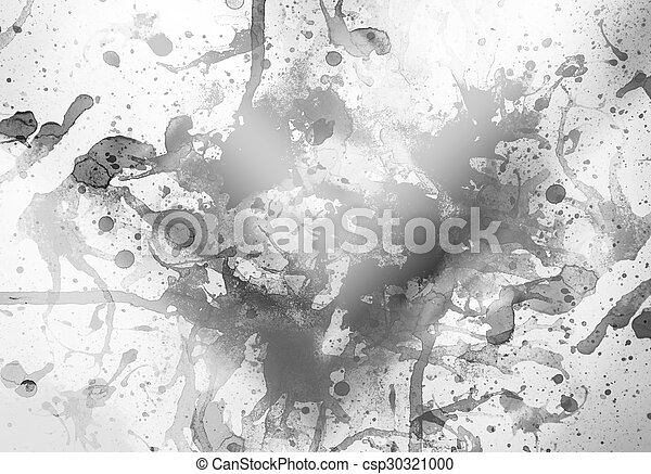 Black and white background - csp30321000