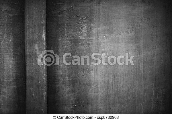 black and white background - csp8780963