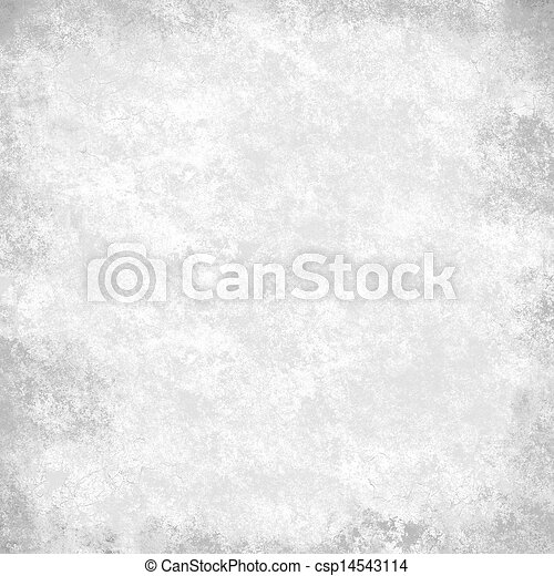 black and white background with black accent light on border and vintage grunge background texture parchment paper, abstract gray background of white paper canvas black texture, monochrome background - csp14543114