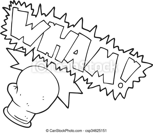 Line Drawing Boxing Gloves Clip Art Black And White