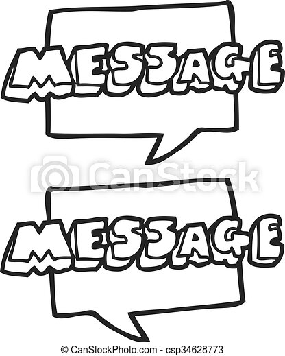 text message clipart black and white awesome graphic library