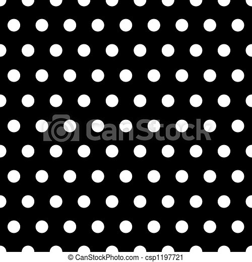 Black and white dots background csp1197721