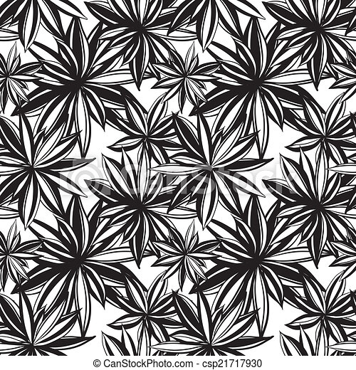 Black And White Flowers Background Black And White Floral