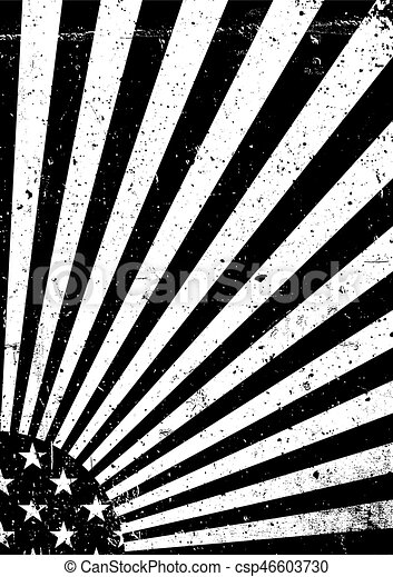 black-and-white-grunge-united-states-of-eps-vectors_csp46603730 Awesome Vector American Flag Clipart Black And White @koolgadgetz.com.info