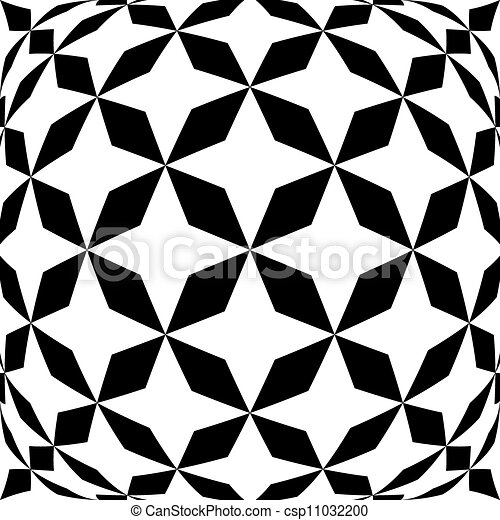 Black and white hypnotic background. - csp11032200
