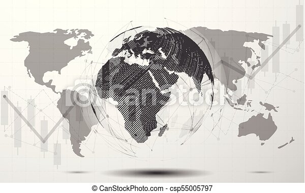Black and white modern minimal style cloud computing eps vectors black and white modern minimal style cloud computing networks structure world map point and line composition concept of global business vector gumiabroncs Gallery