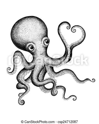 Octopus Herz