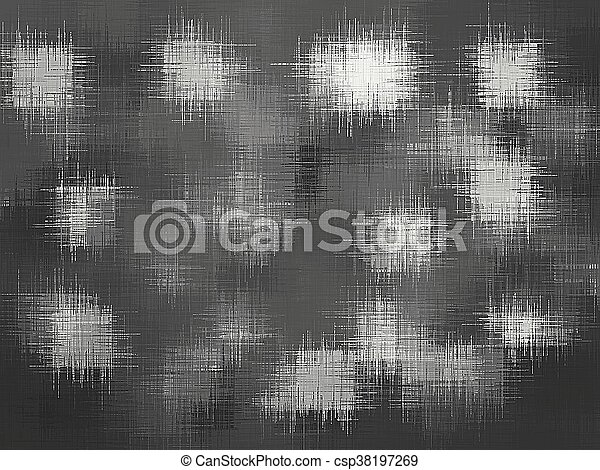 black and white painting texture abstract background - csp38197269