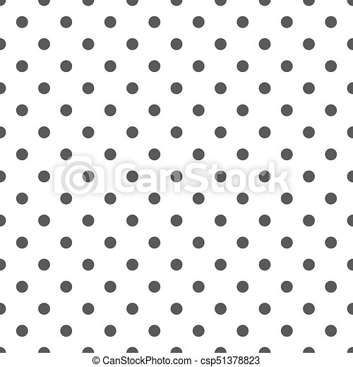 Black and white polka dots pattern csp51378823