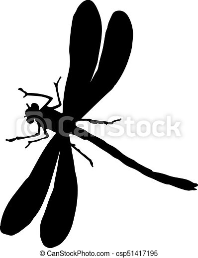 black and white silhouette of a dragonfly black and white eps rh canstockphoto com dragonfly vector art dragonfly vector format