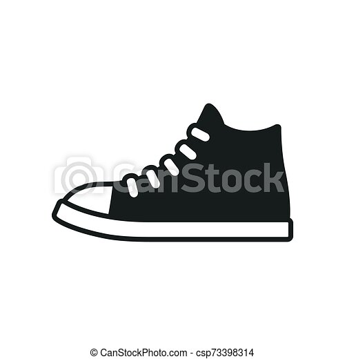 Black And White Sneaker Shoe