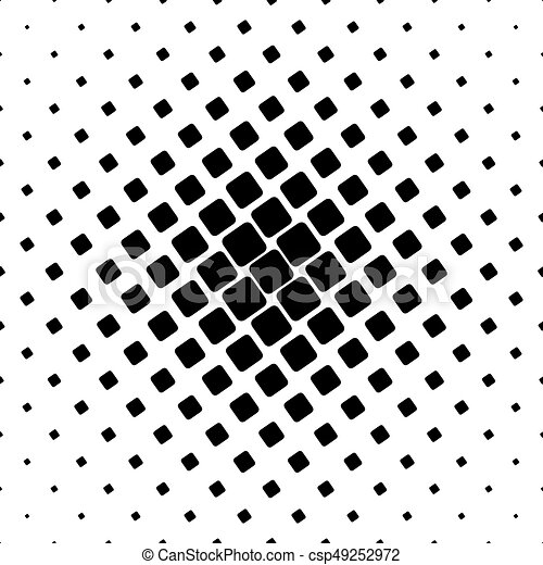 Black And White Square Pattern Geometrical Abstract Vector Unique Angular Pattern