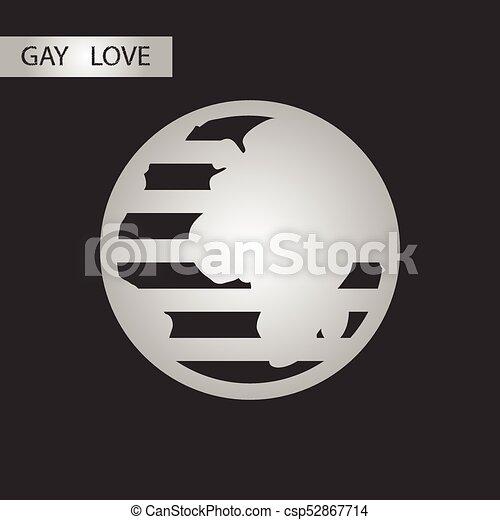 Black Clip Gay White