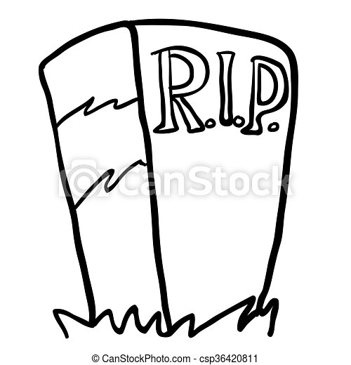 black and white tombstone cartoon vector clip art search rh canstockphoto com tombstone vector free download halloween tombstone vector