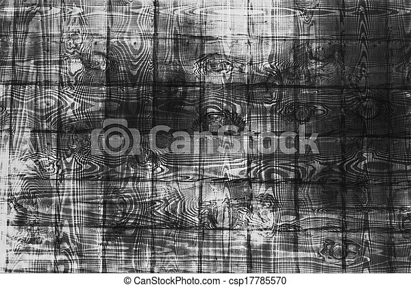 black and white wall wood - csp17785570
