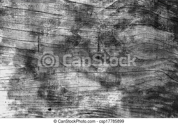 black and white wall wood - csp17785899