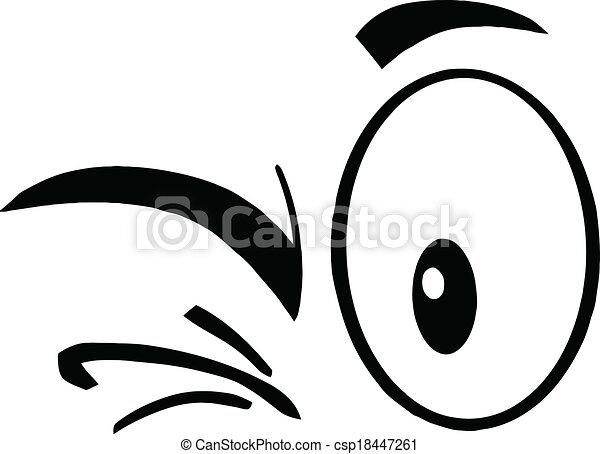 Black And White Winking Eyes Black And White Winking Cartoon Eyes