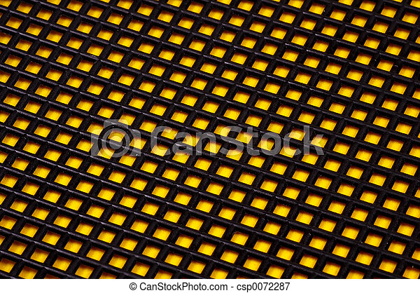Black and Yellow Background - csp0072287