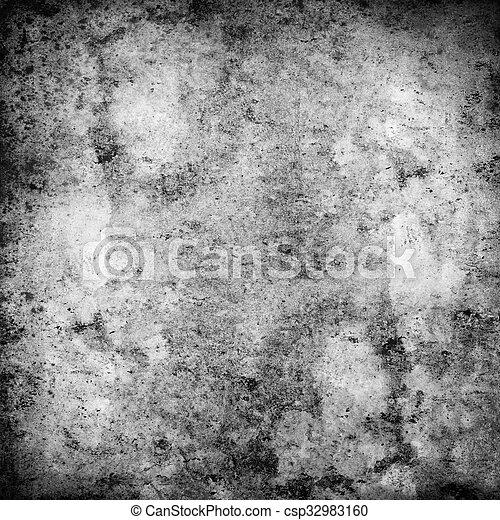 black background - csp32983160