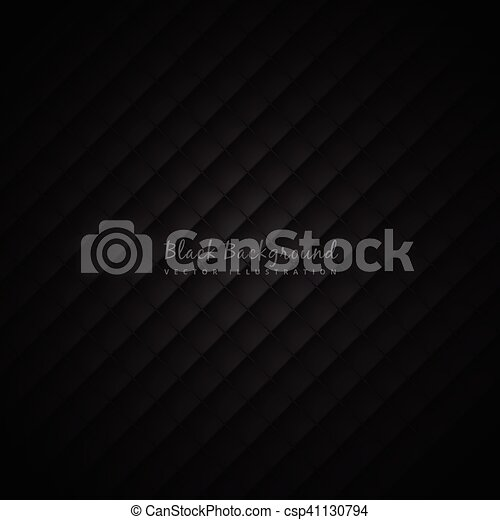 black background with pattern - csp41130794