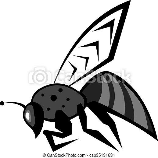 Black Bee - csp35131631