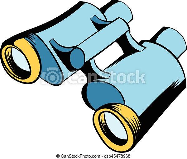 black binoculars icon cartoon black binoculars icon in clip art rh canstockphoto com binocular clipart binocular clipart
