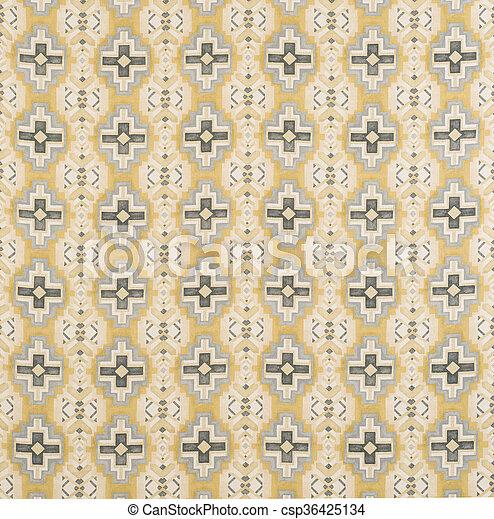 Black, Blue, Yellow Cross Pattern Wallpaper Swatch - csp36425134
