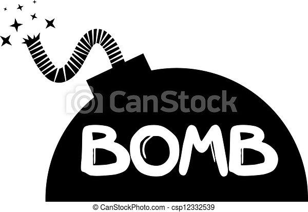 Black bomb - csp12332539