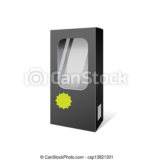 Black box products package design - csp13821301