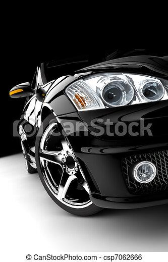 Black car - csp7062666