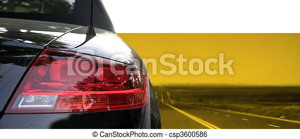 Black car - csp3600586