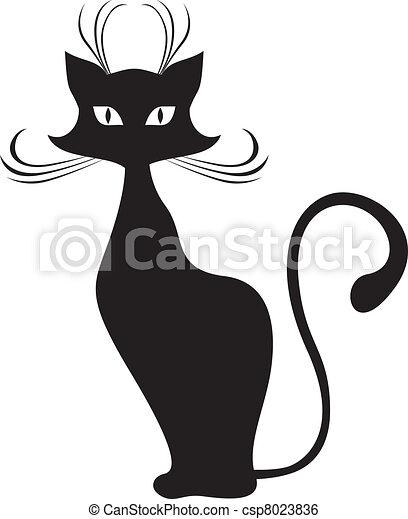 Black cat - csp8023836