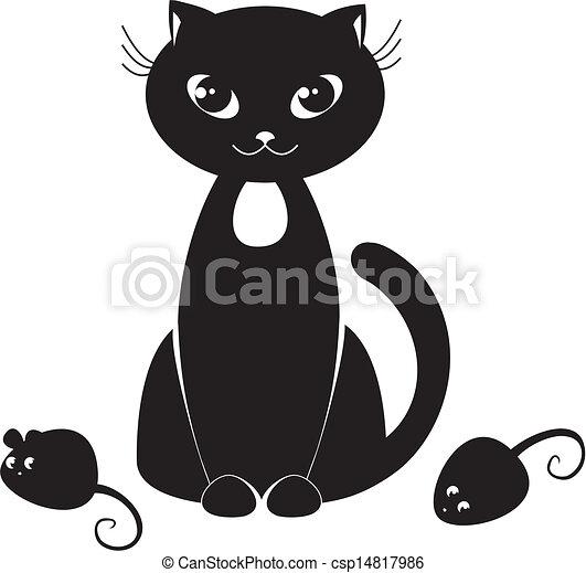 black cat - csp14817986