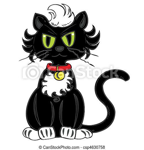 Black cat. - csp4630758