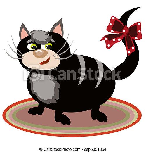 Black cat. - csp5051354