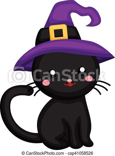 Black cat - csp41058526