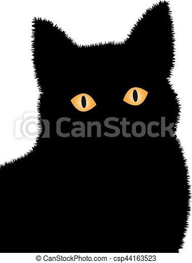 Black cat - csp44163523