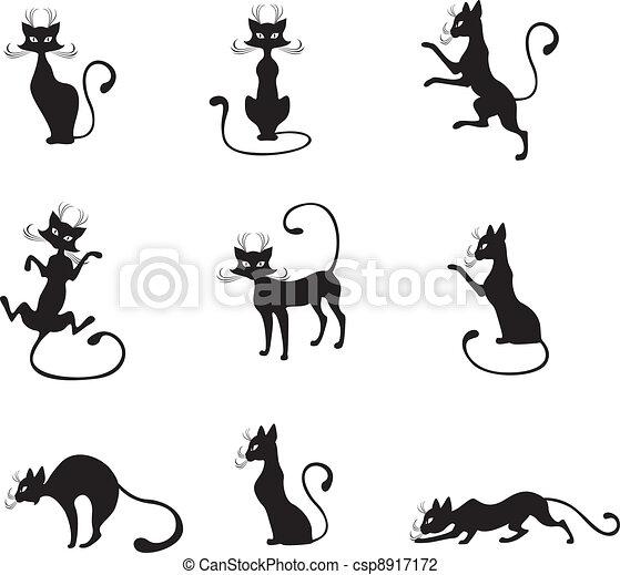 Black cat - csp8917172