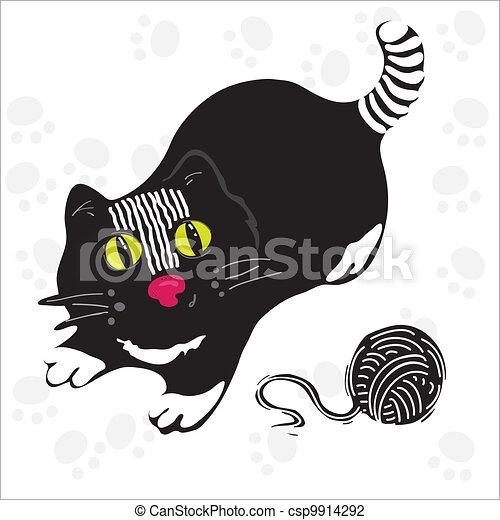 Black cat - csp9914292