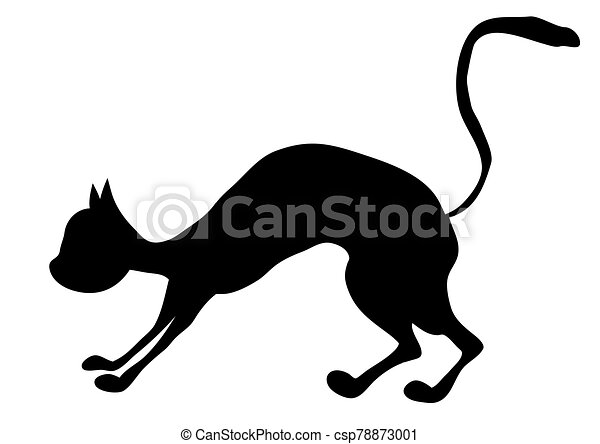 dog and cat fighting black white Poster • Pixers® - We live to change