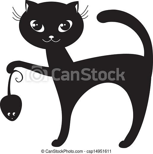 black cat - csp14951611