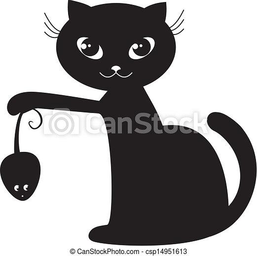 black cat - csp14951613