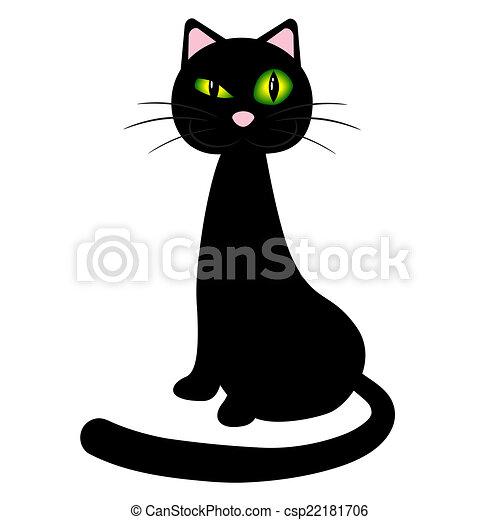 Black cat - csp22181706