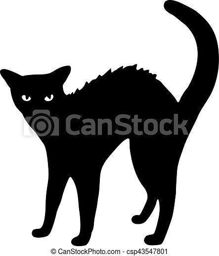 Black cat - csp43547801