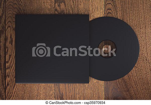 Black CD - csp35970934