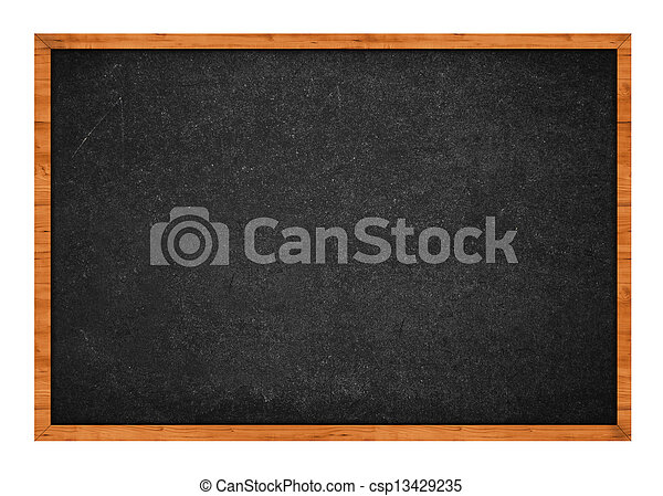 Black chalkboard - csp13429235