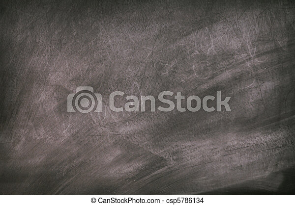 Black chalkboard surface - csp5786134